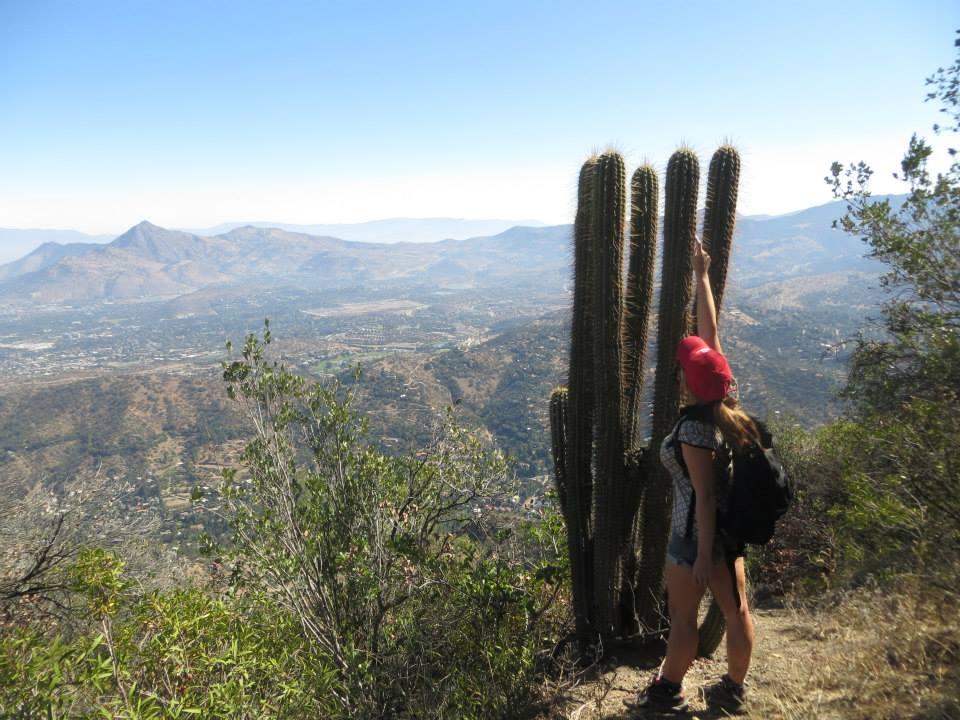 Cerro Pochoco a Santiago,