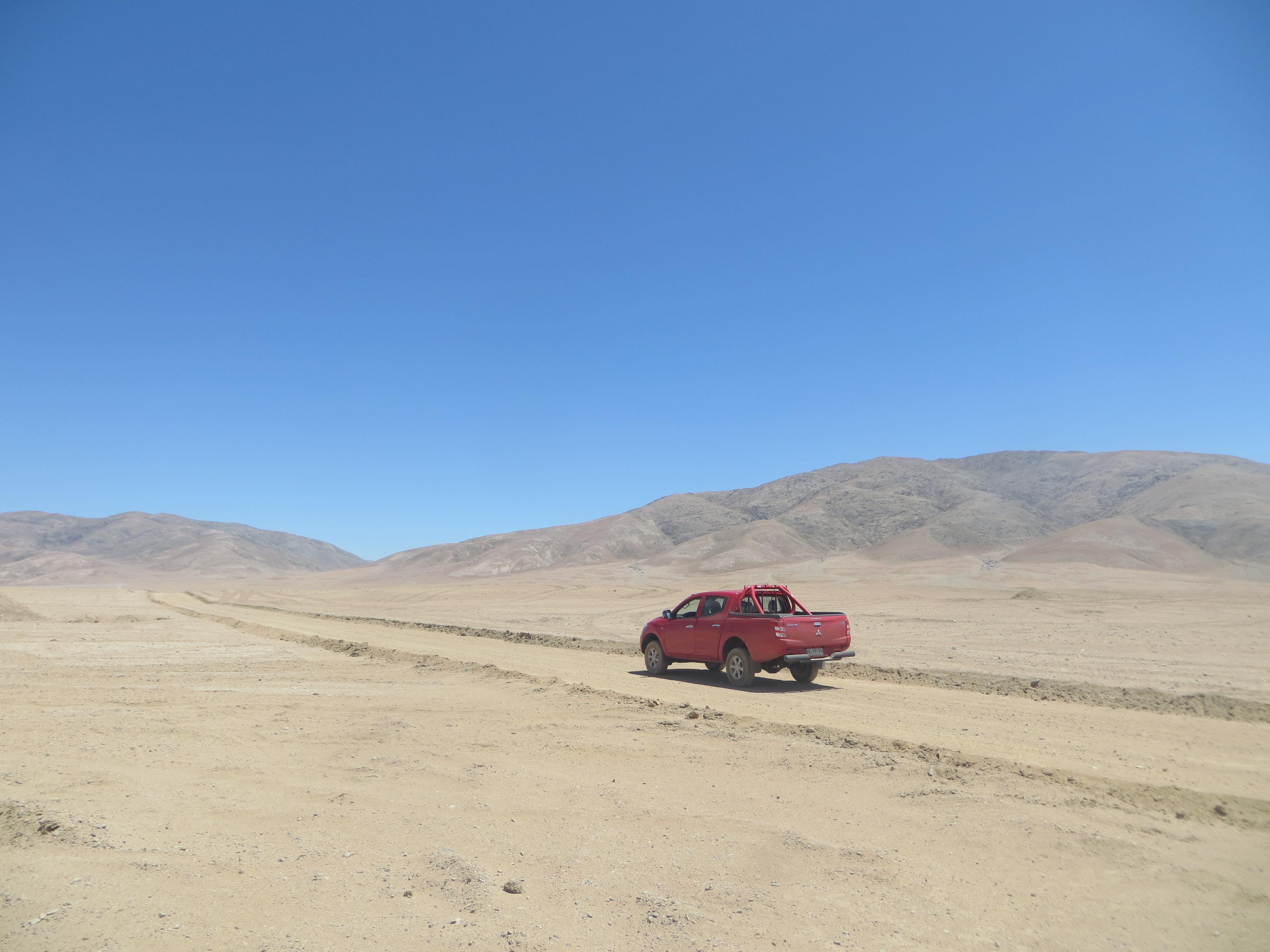 Dans la région d'Antofagasta