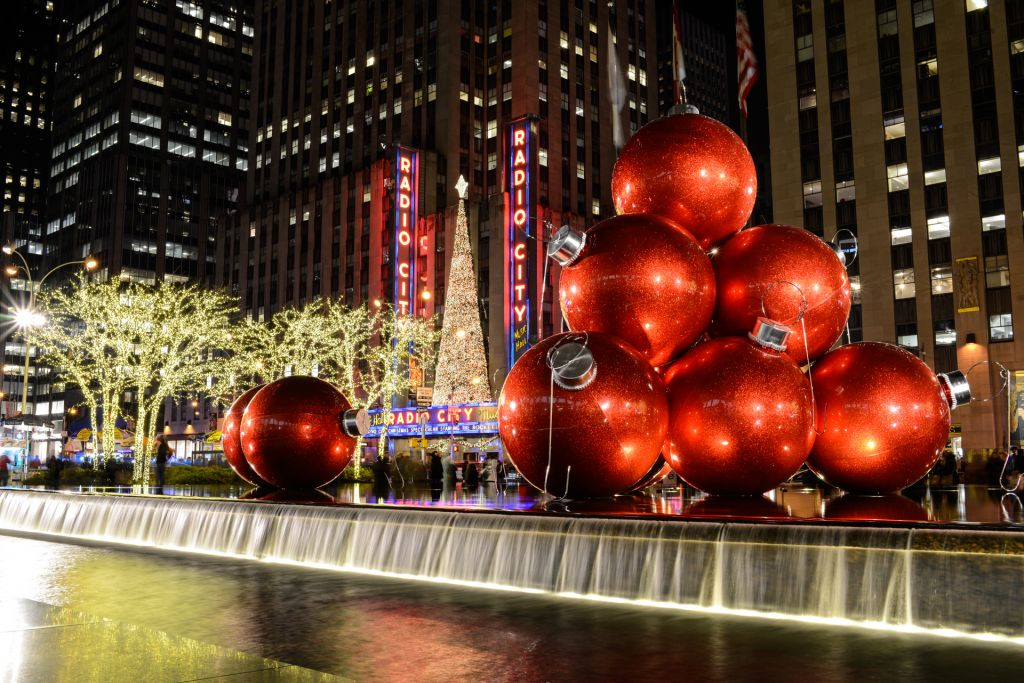 Décoration et illumination de Noël à New York