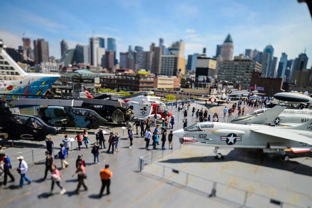 Intrepid sea air space un lieux unique à new york