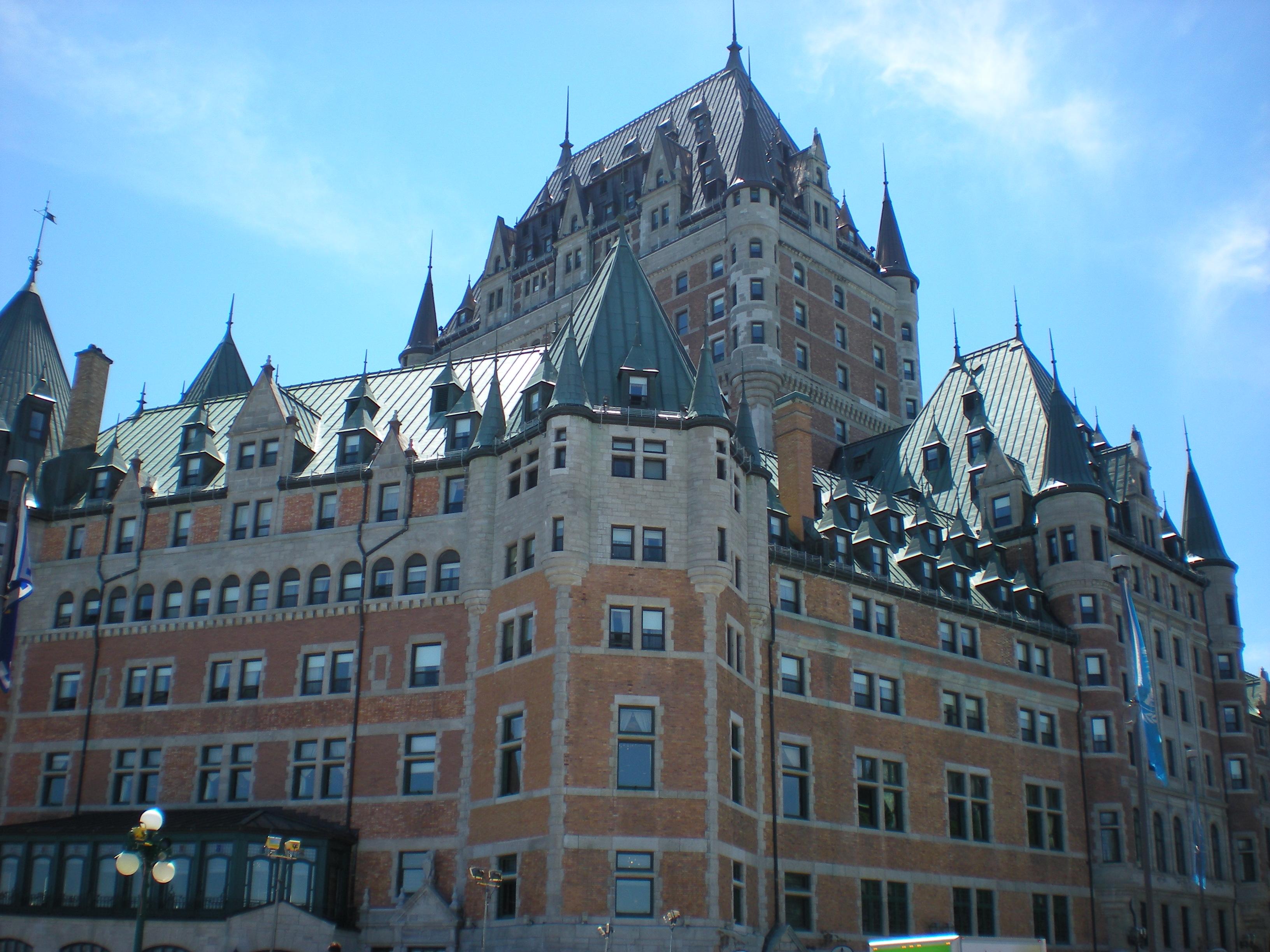 Château Frontenac à Québec