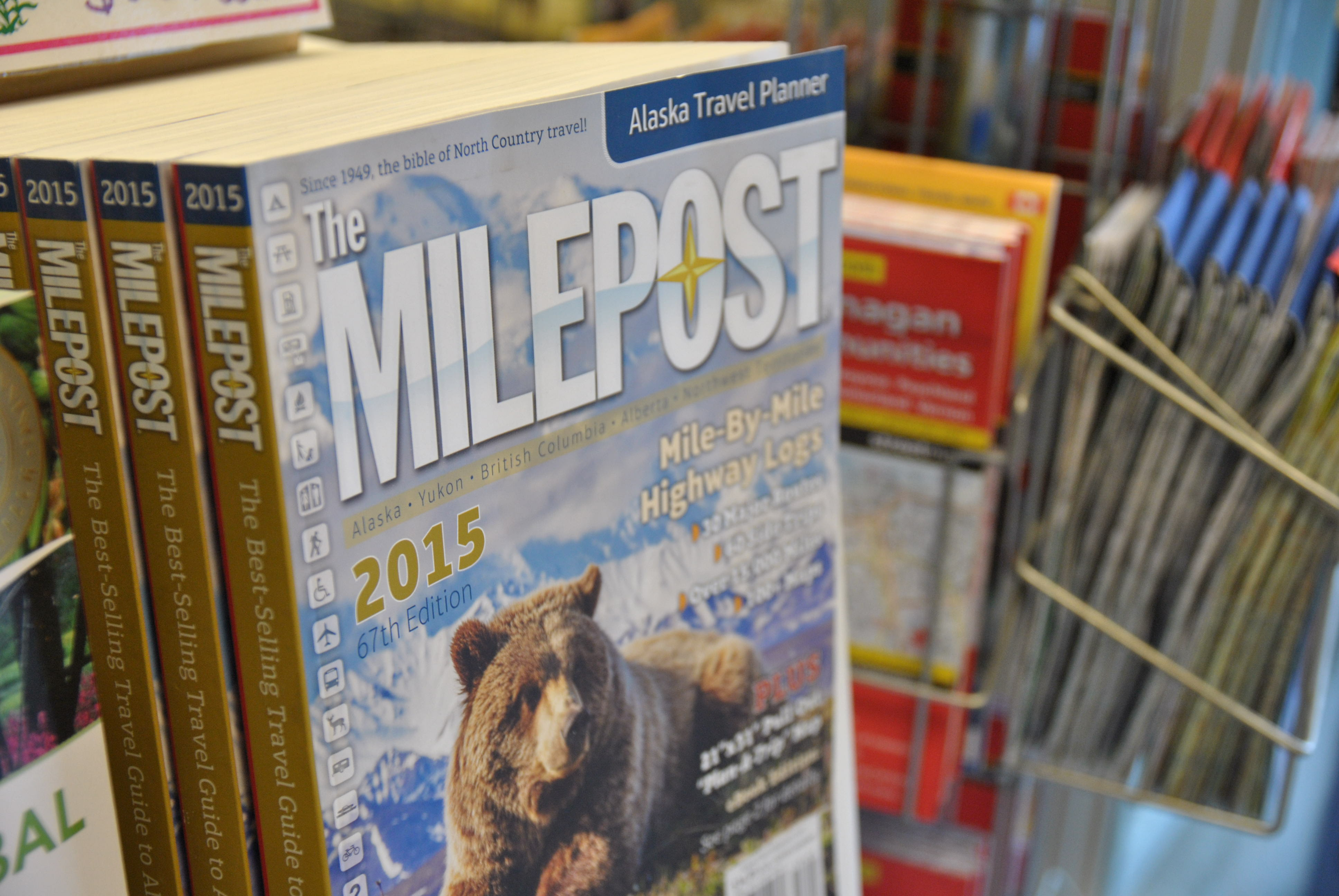 The milepost le guide indispensable pour votre roadtrip en Alaska