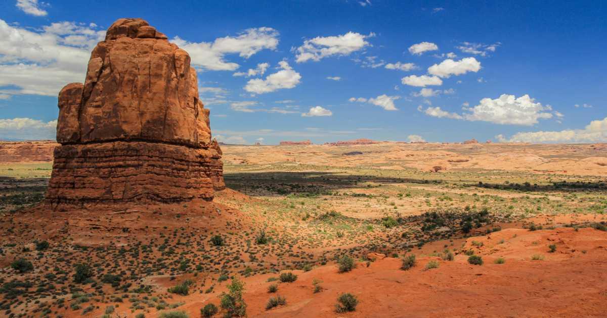 Park national de Arche aux Etats-Unis