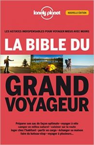 couverture Bible du grand voyageur Lonely Planet