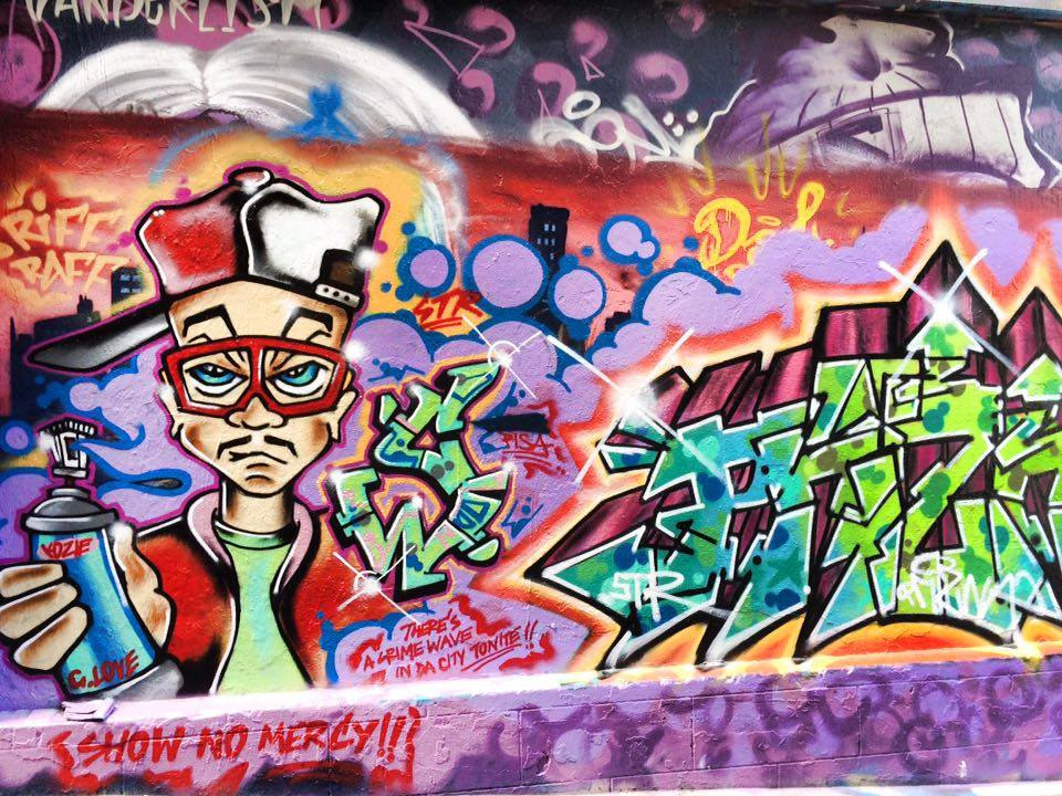 Les graffiti de Melbourne