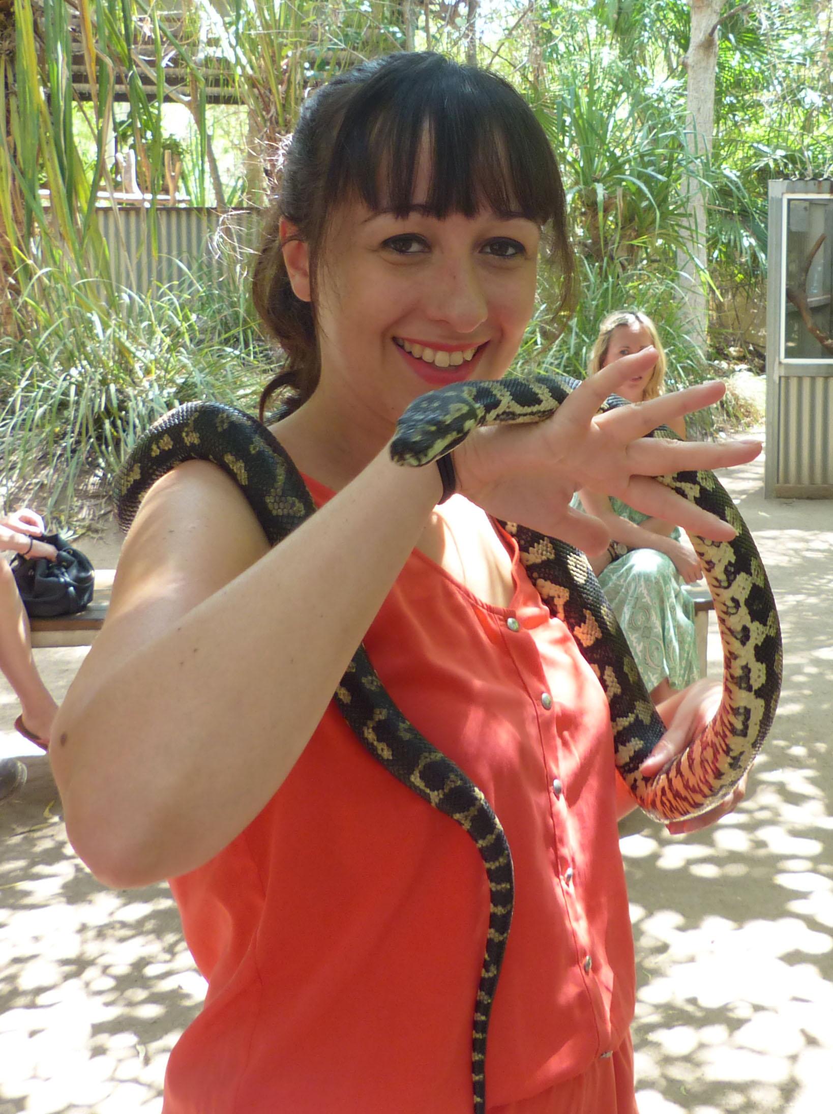 Ophélie-serpent