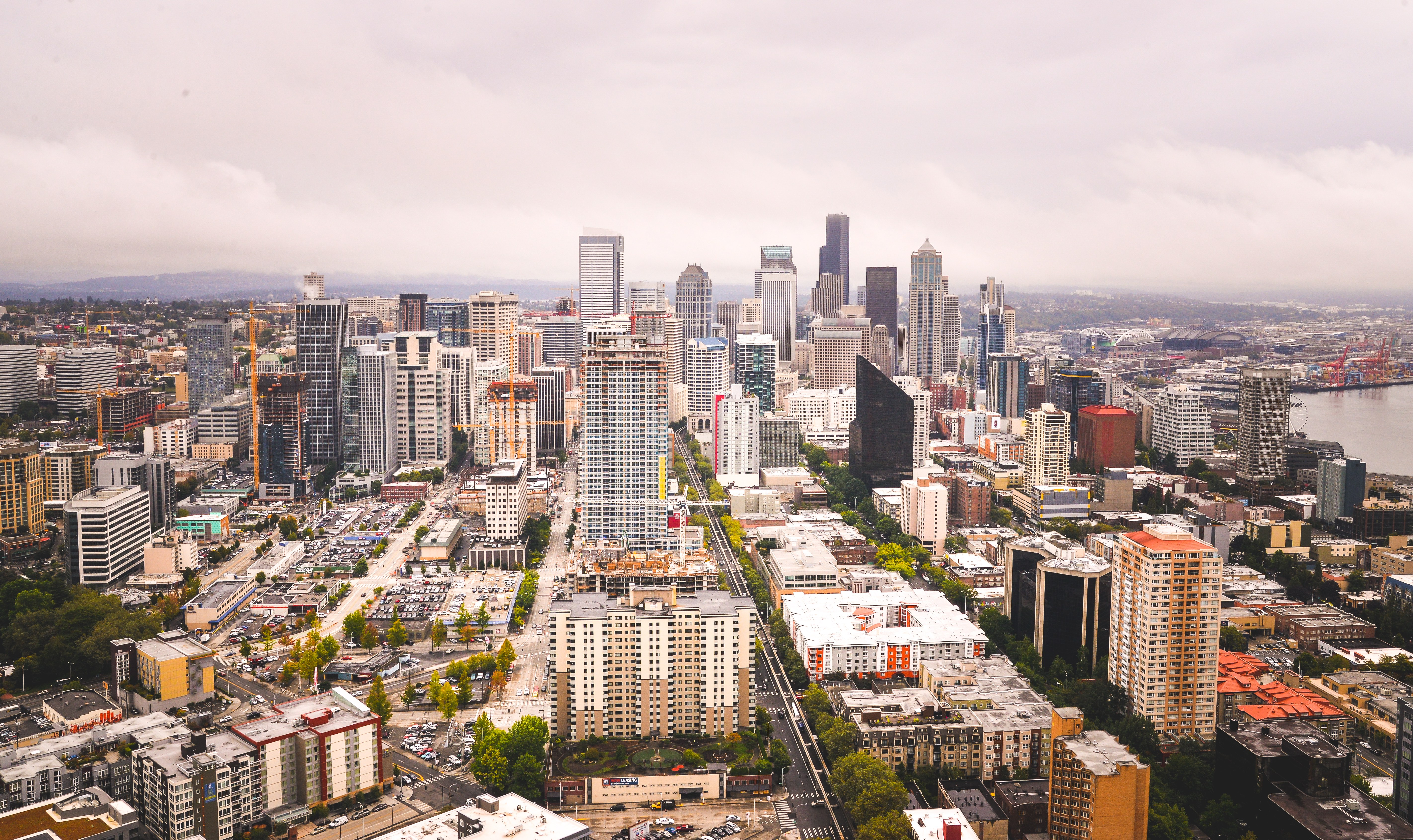 Panorama sur Seattle