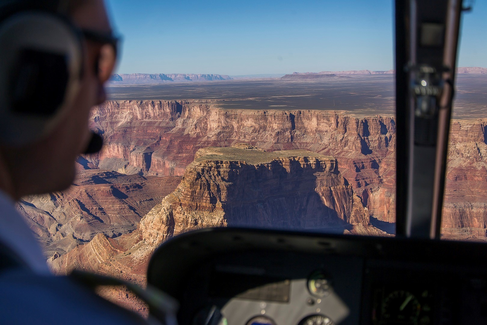 Le Grand Canyon vu des airs