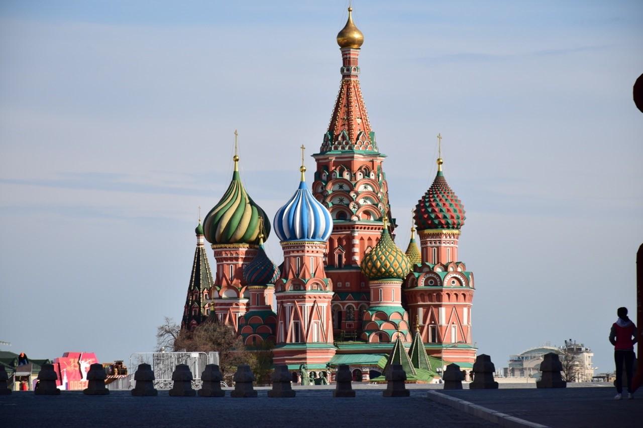symbole de Moscou la Cathédrale Basile le Bienheureux