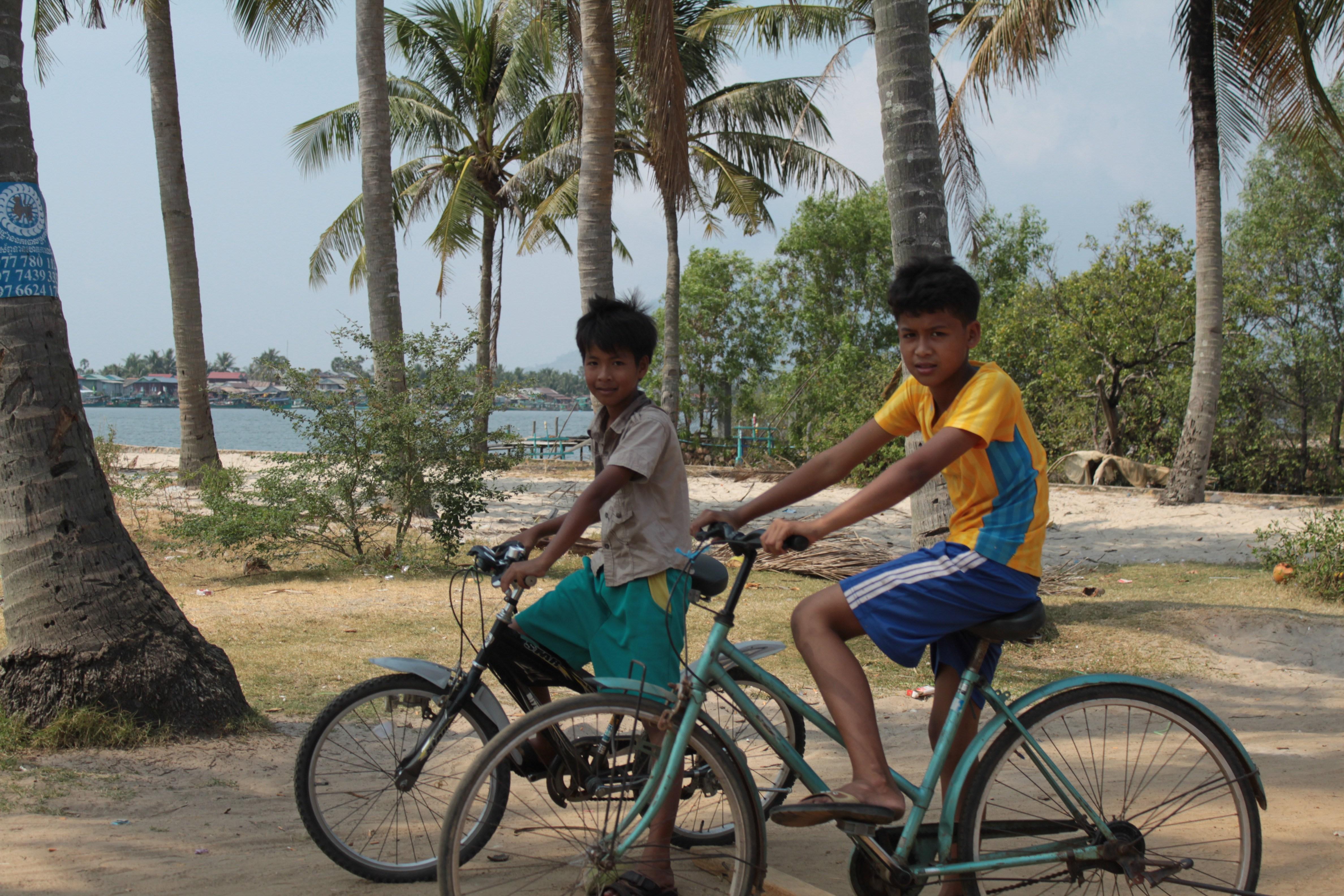 Bikers de Kampot (Cambodge)