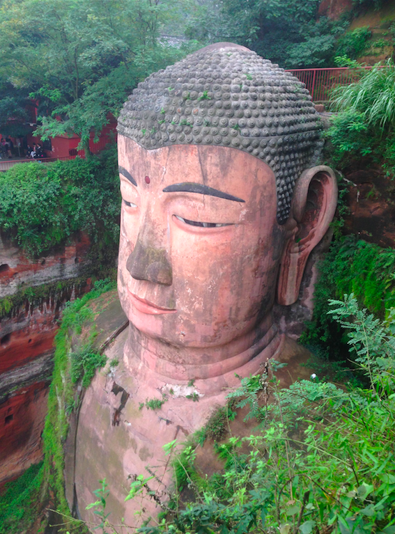 Leshan le plus grand Buddha du monde