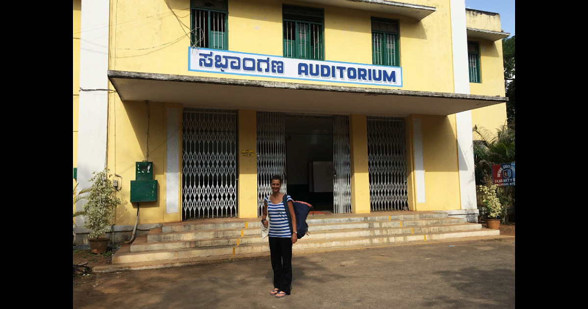 Nomad Bird fait du volontariat en Inde