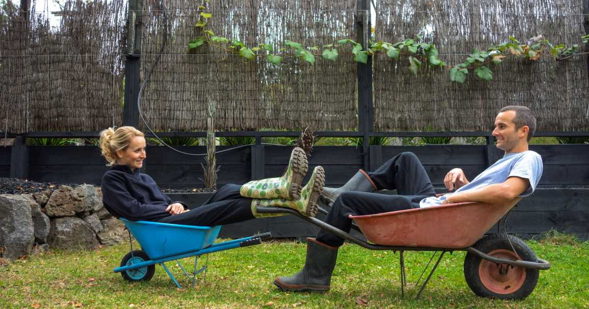 Alizée et Romain, un couple parti faire du HelpX en Nouvelle-Zélande