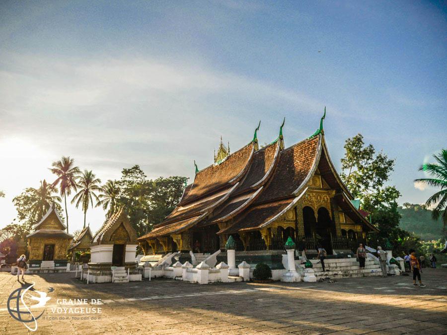 temple a luang prabang au laos