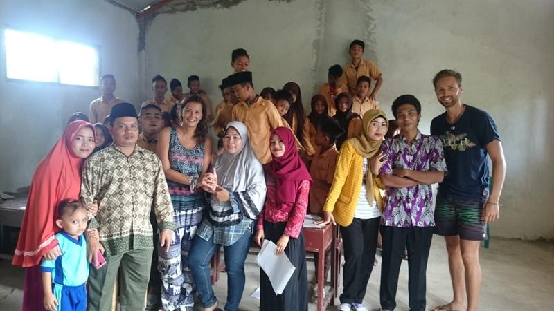 Volontariat dans une ecole en Indonesie