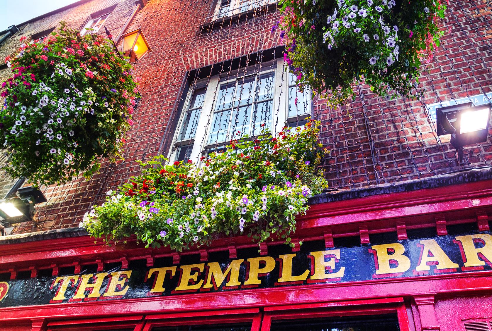 Visiter Dublin et le celebre Temple Bar