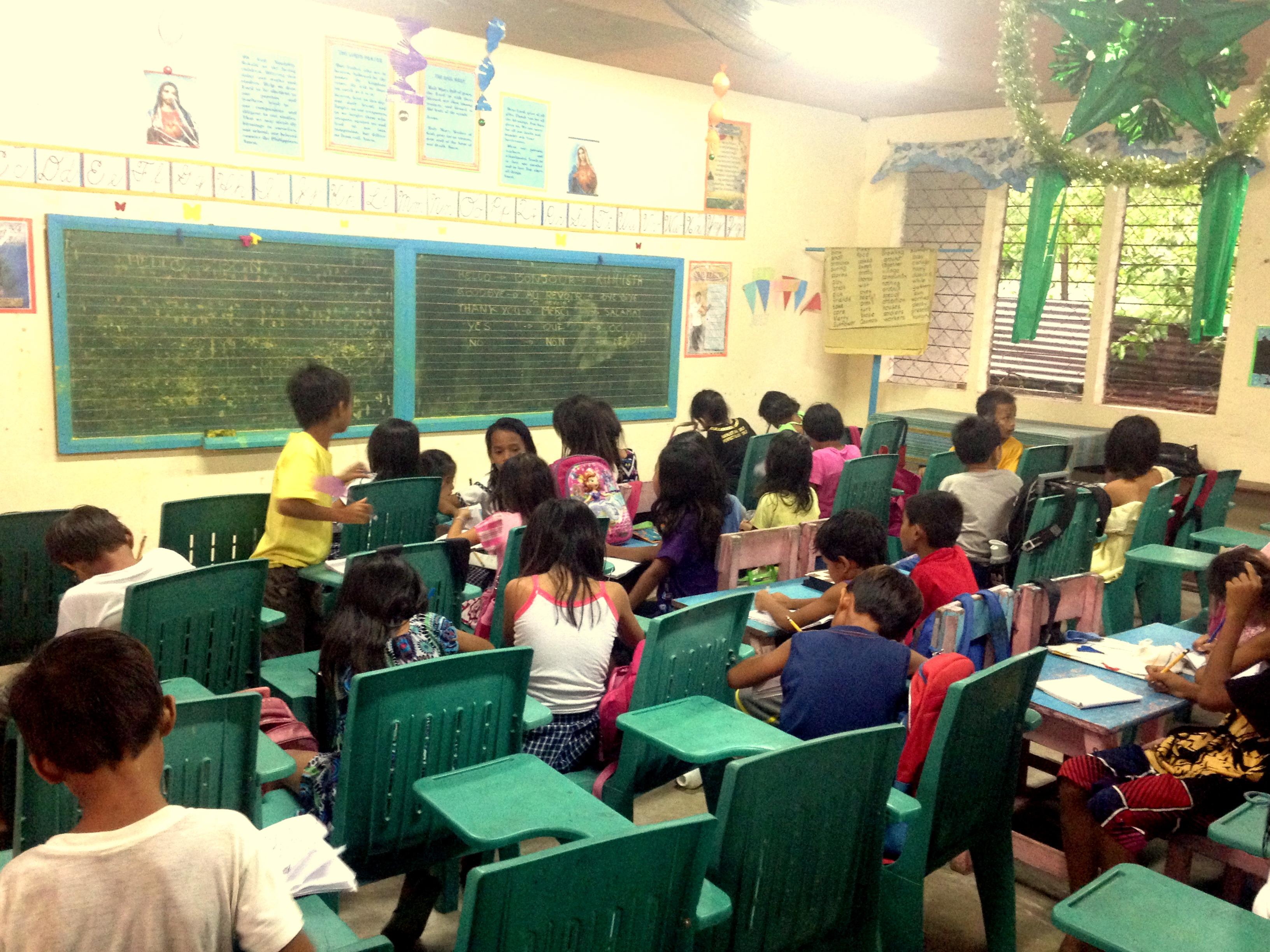 Volontariat aux Philippines