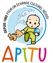 logo agence au pair apitu