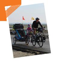 Un tour de France à vélo et avec les enfants en bas âge