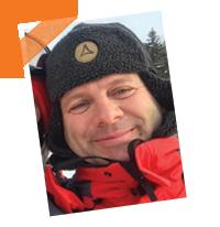 Yann a passé l'hiver au Québec