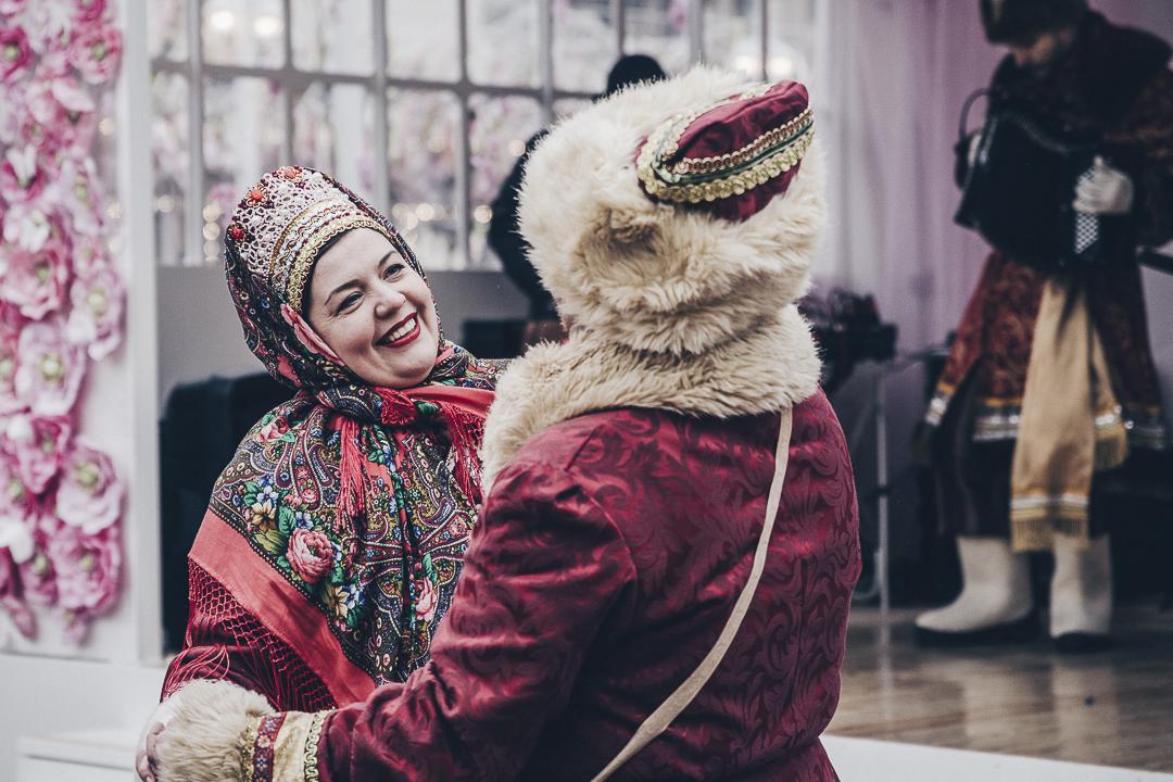 les fetes de Maslenitsa a Moscou