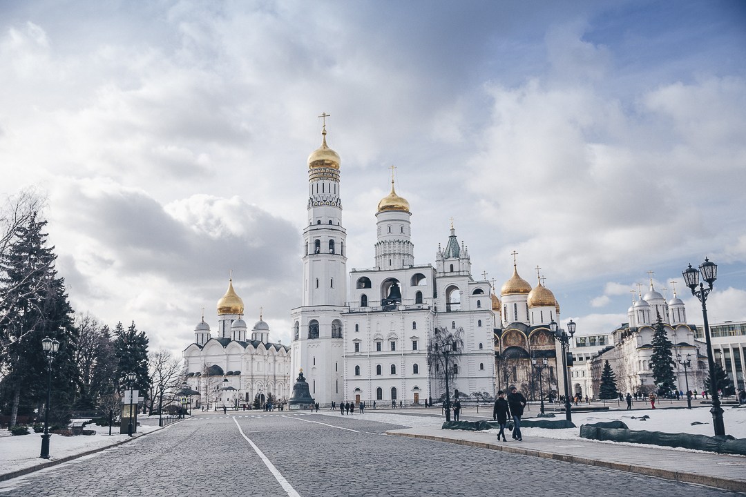 Visiter le Kremlin a Moscou
