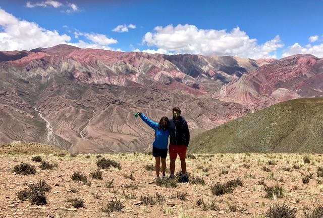 2 french trotters dans les paysages sublimes d'amerique latine