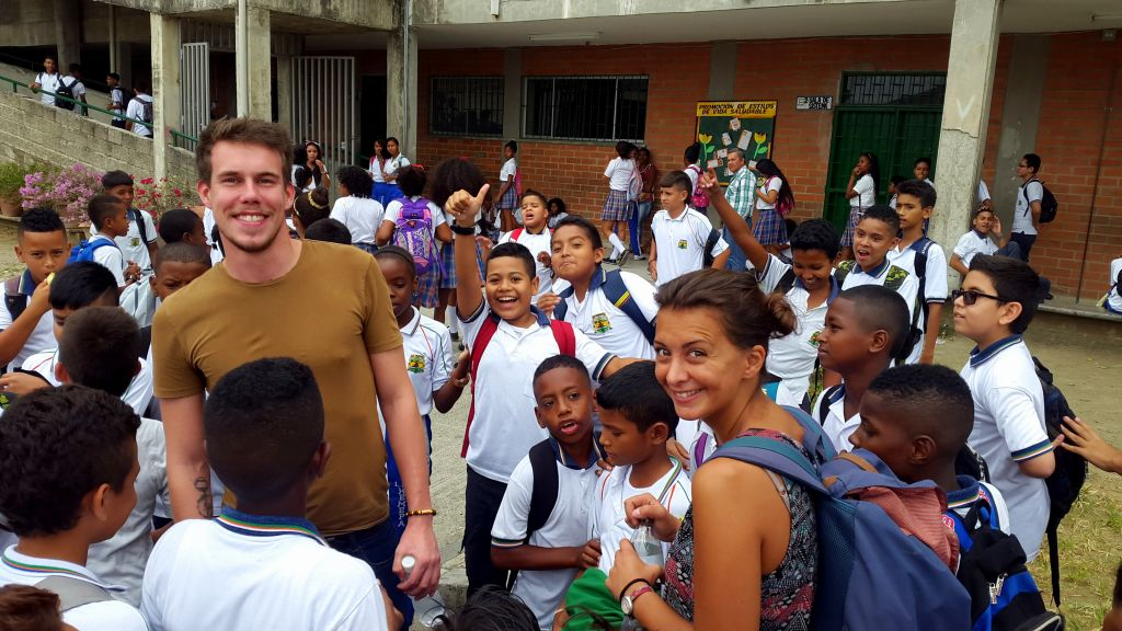 un volontariat en Colombie a Apartadoi