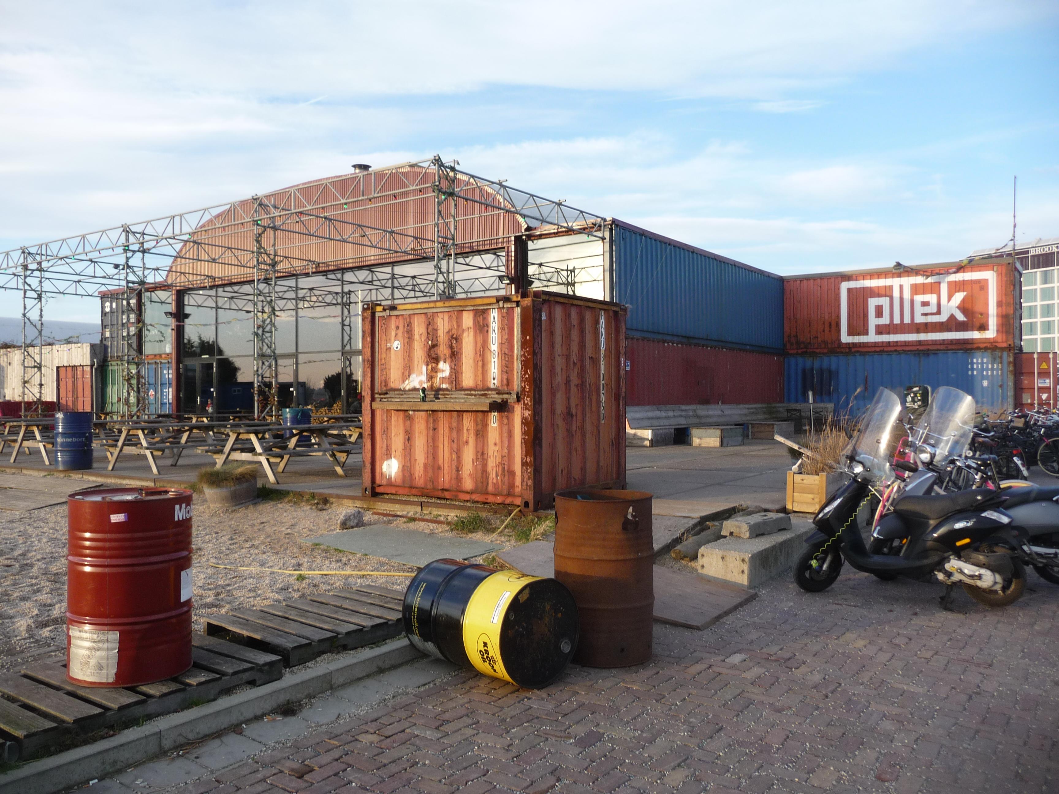 decouvrir le Pllek a Amsterdam