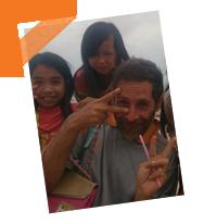 Stéphane monte une école au Cambodge