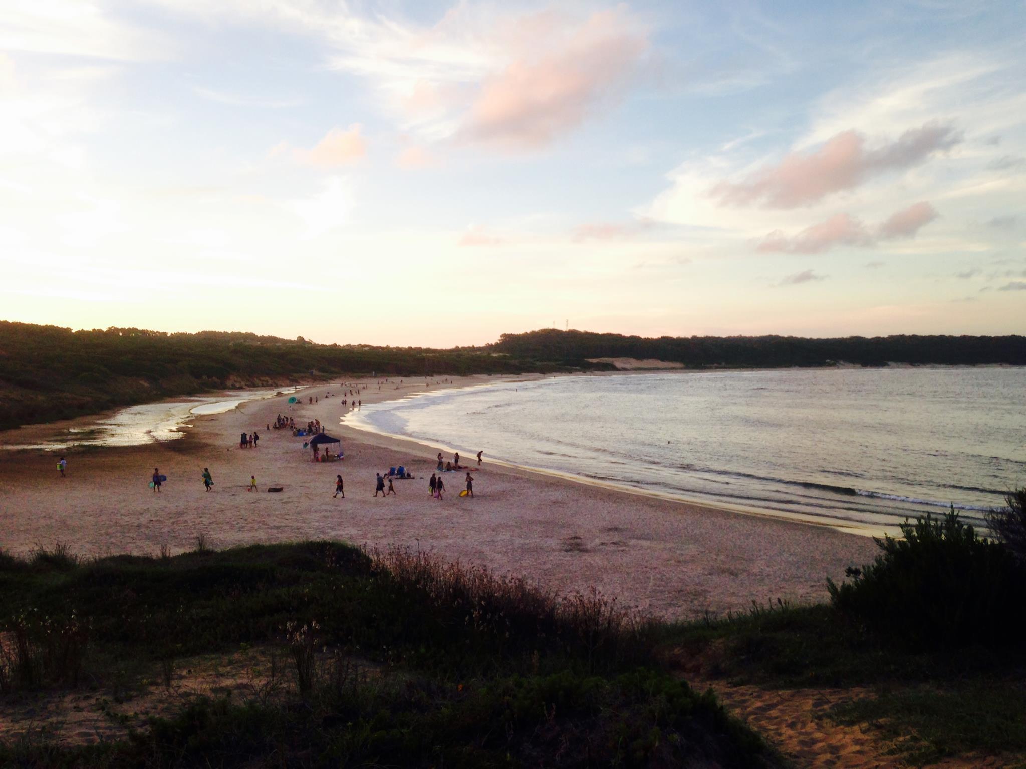 la plage Punta del Diablo