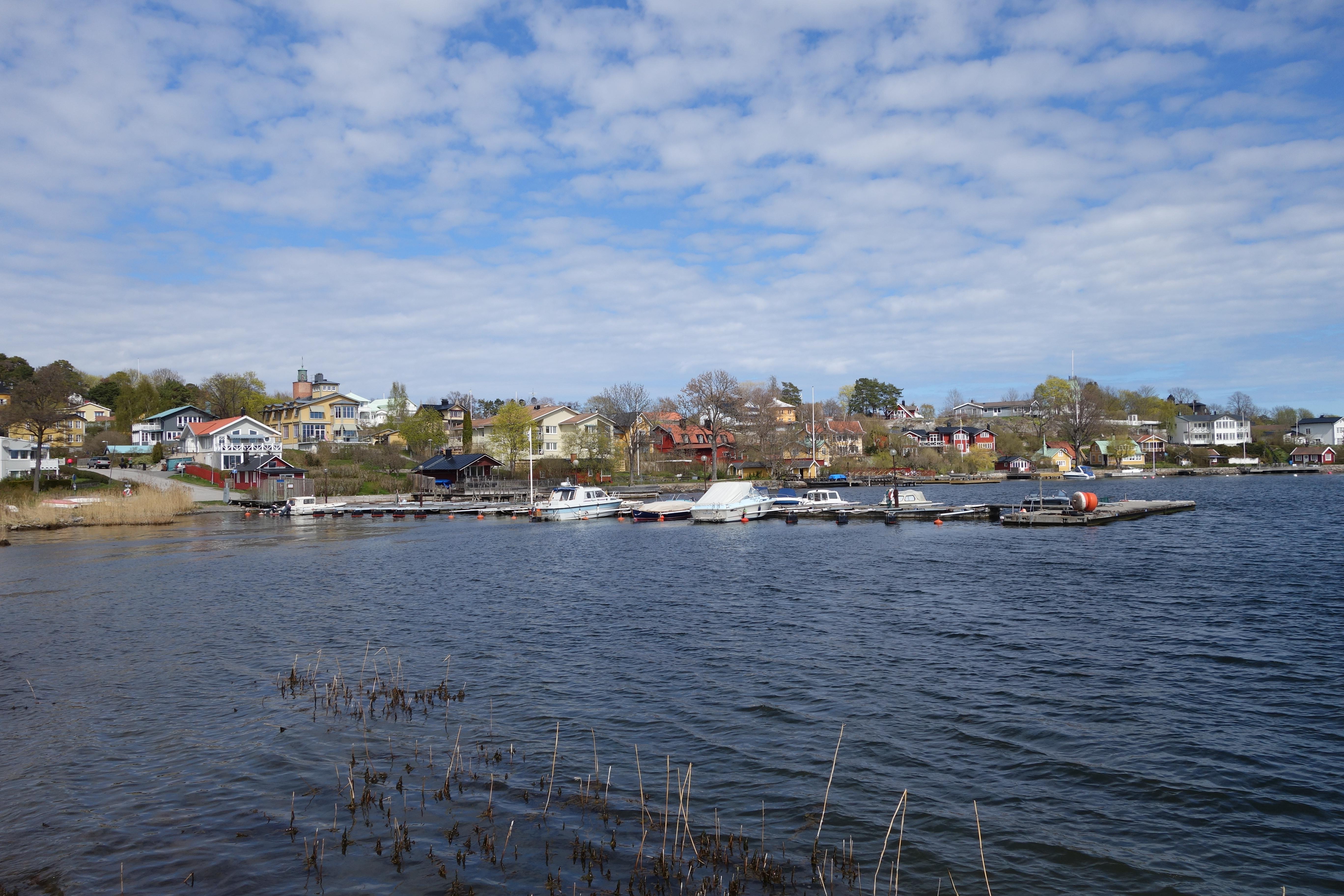Visiter les iles de Vaxholm