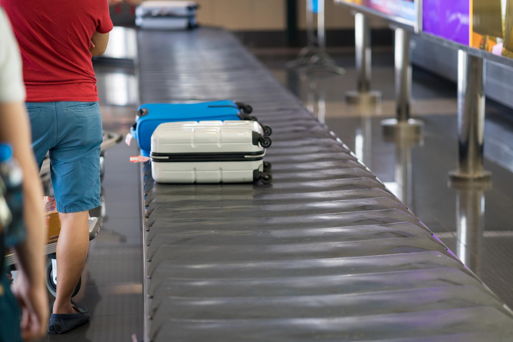 valise perdu a l'aeroport
