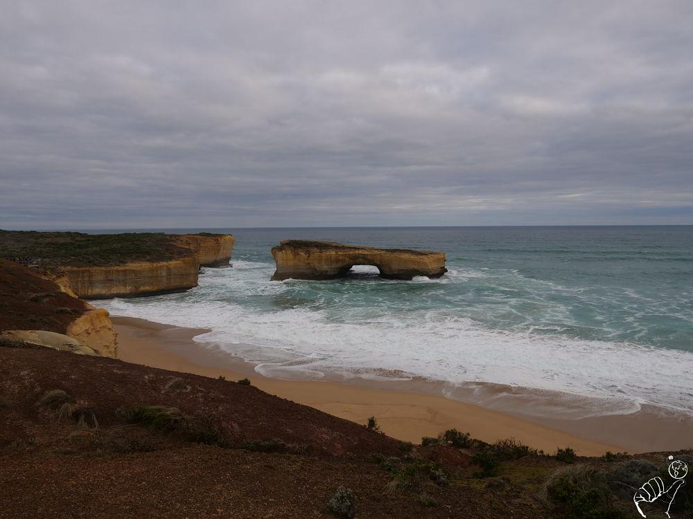 côte ouest de l'Australie en van