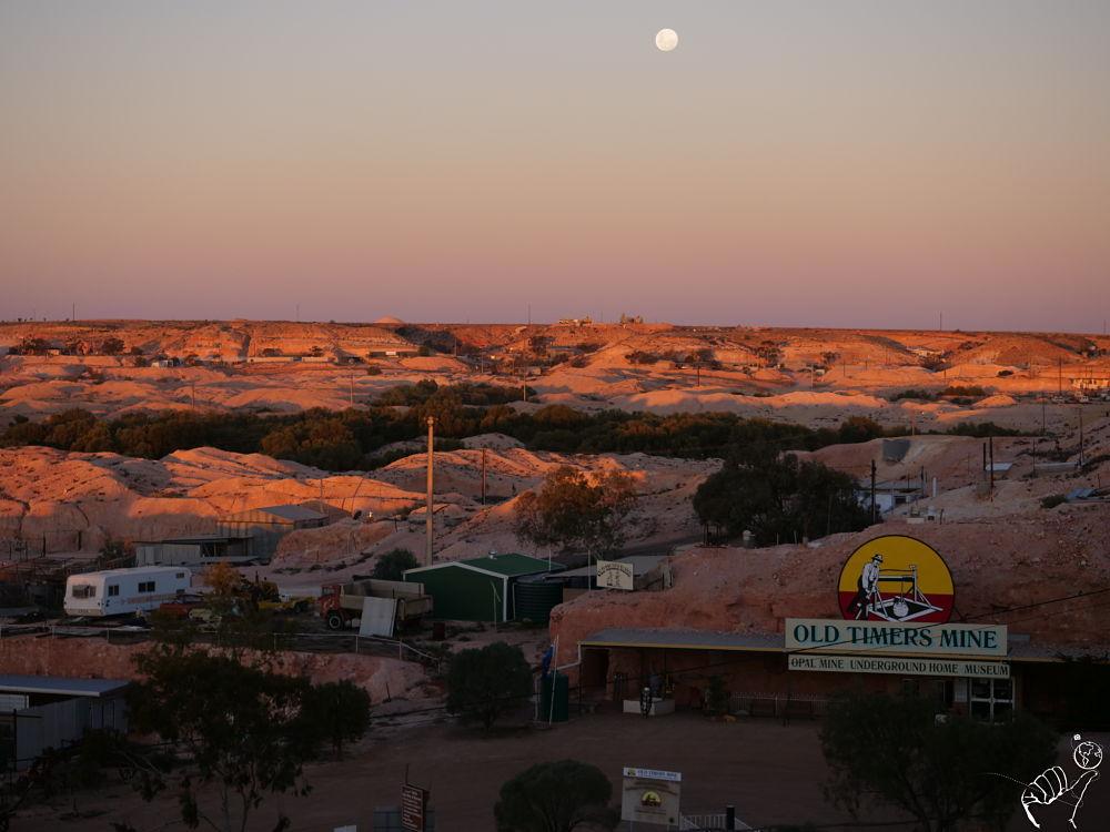 Coober Pedy ville miniere en Australie