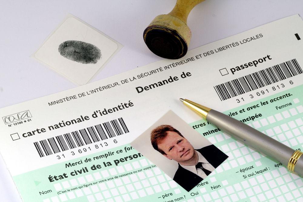 formulaire pour la demande de passeport