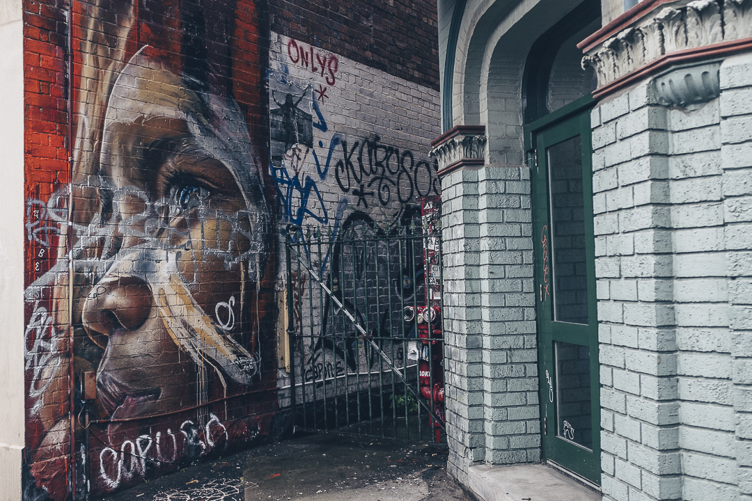 street art a Melbourne