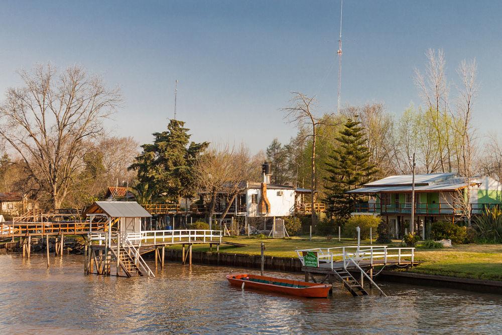 le fleuve Sarmiento dans la ville de Tigre