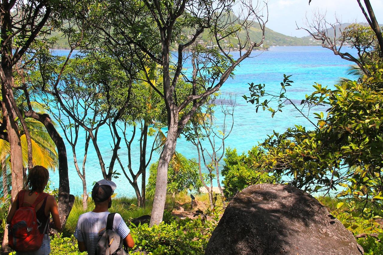 Crab Cay sur l'ile de Providencia
