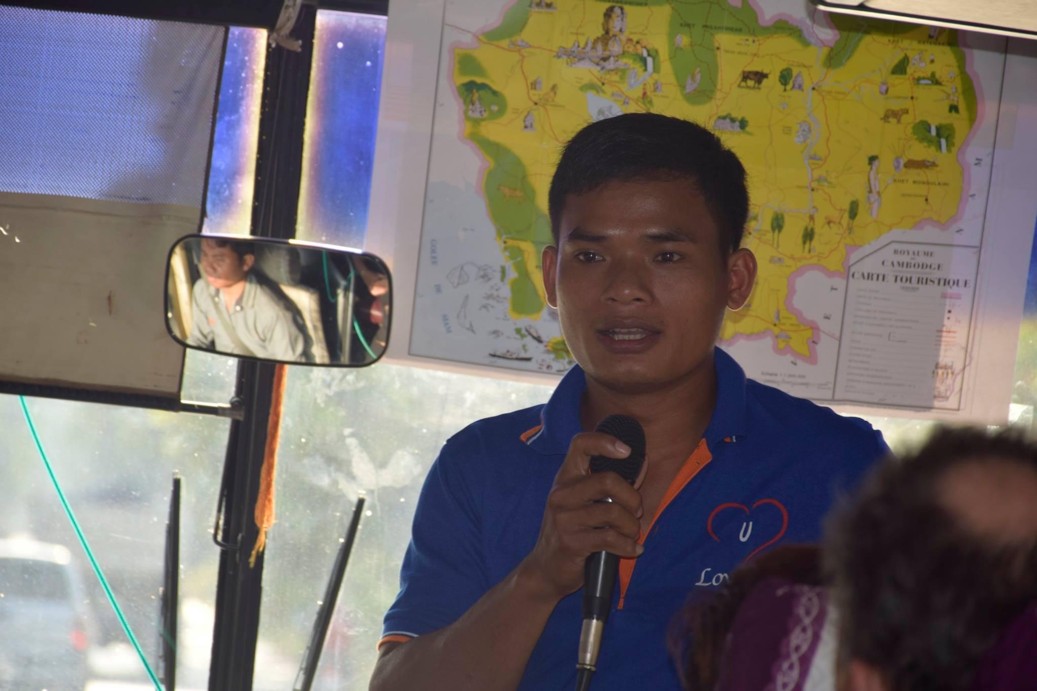 le responsable de ce volontariat au Cambodge