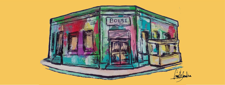 le Bolsi restaurant a Asuncion au Paraguay