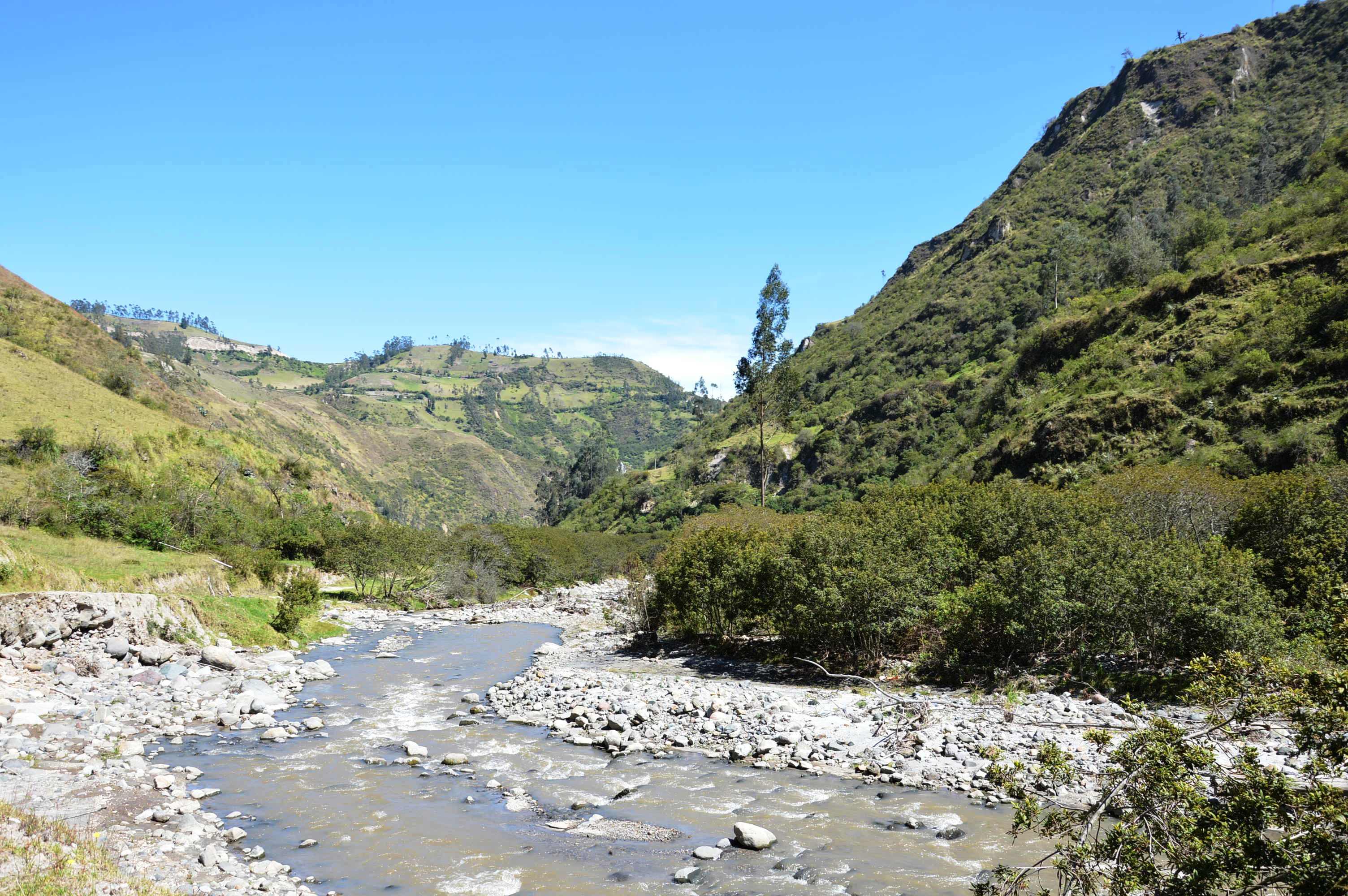 fleuve en Equateur