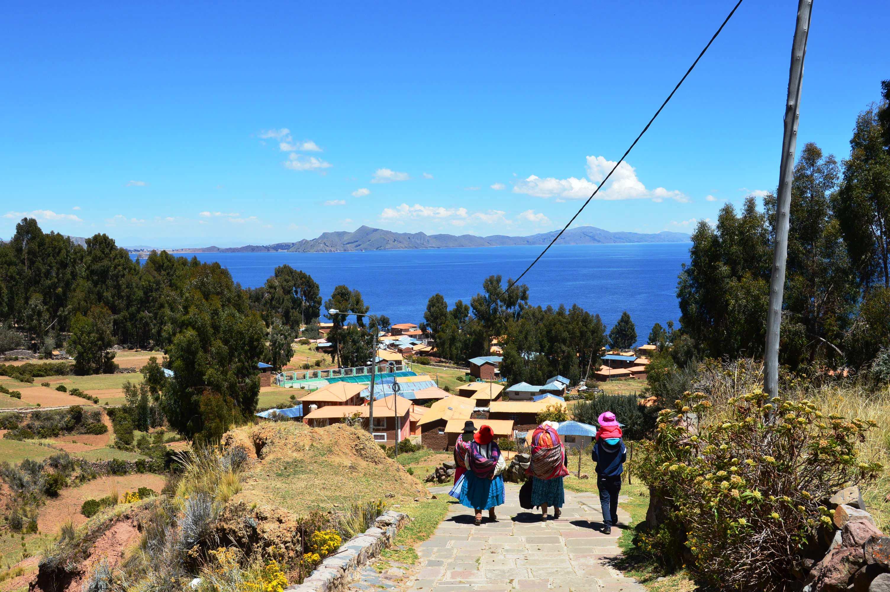decouvrir Amantani sur le lac Titicaca