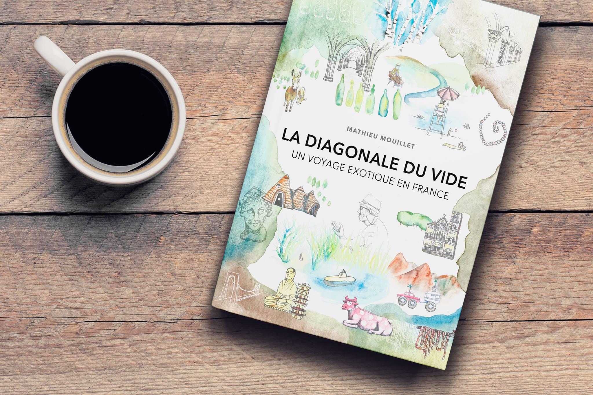 La diagonale du vide, le livre