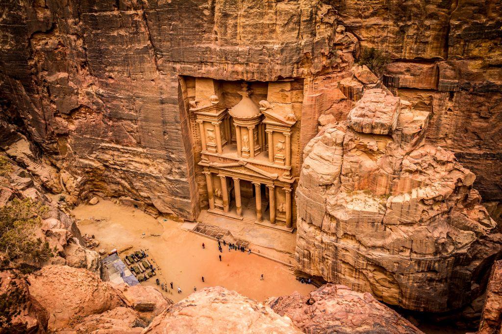 les demarches du visa pour la jordanie pour visiter le site de Petra