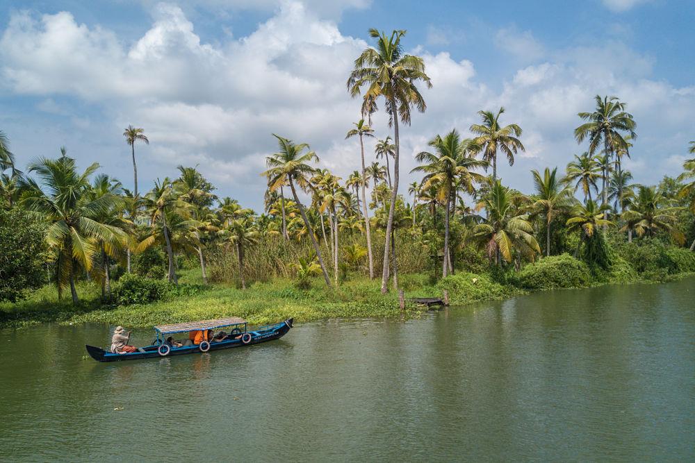 cote Allepey au Kerala