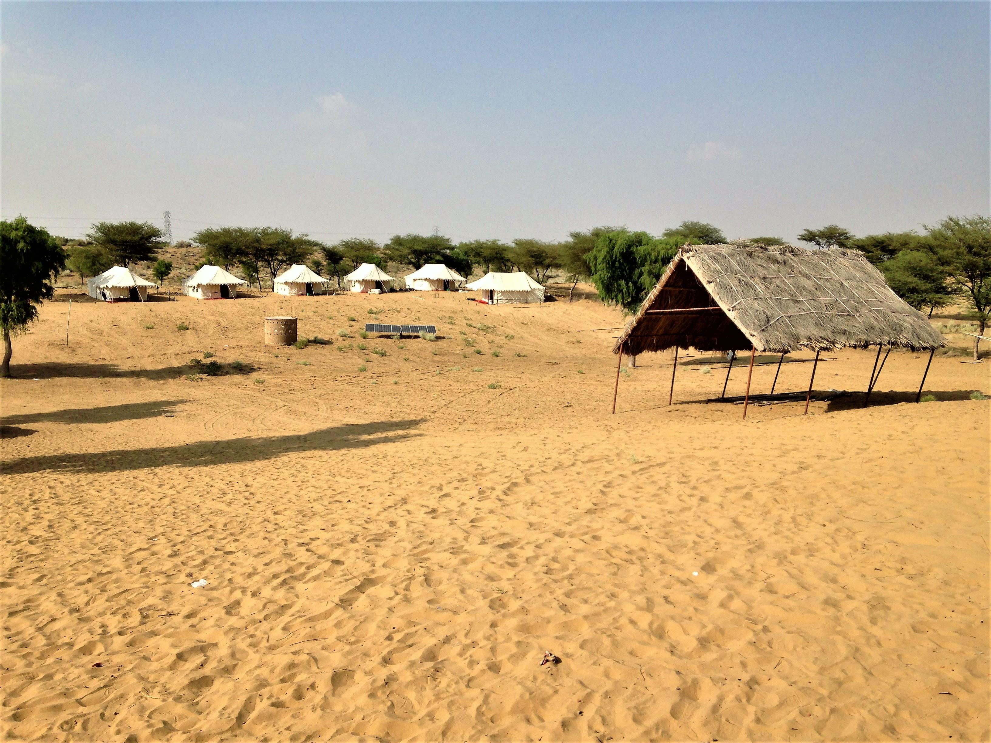 volontariat au Rajasthan dans le desert
