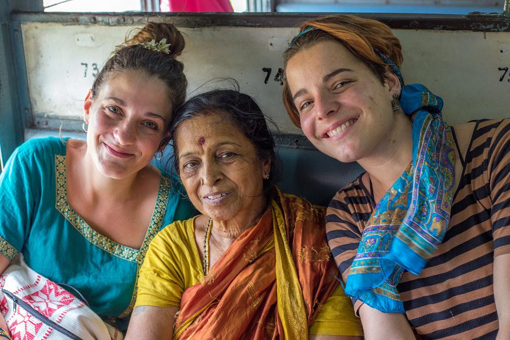 rencontre dans le train en Inde