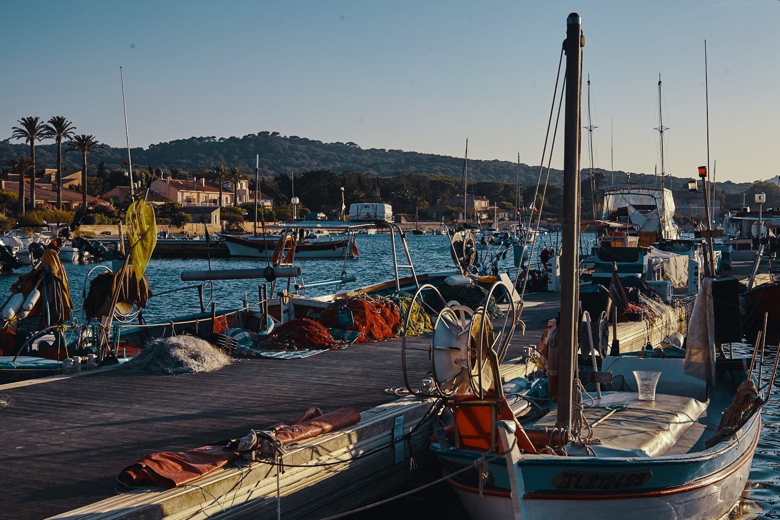port de peche sur la Mediterranee