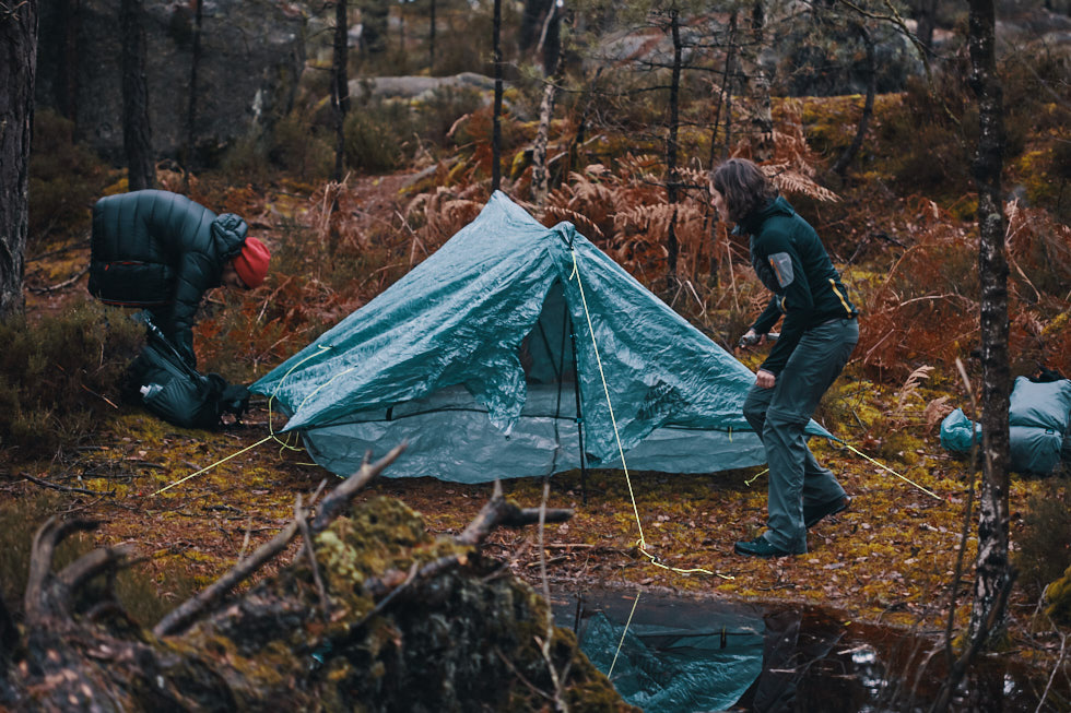 dormir dans un tente pendant un trek